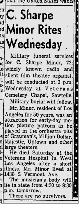Nov. 25, 1957, C. Sharpe Minor