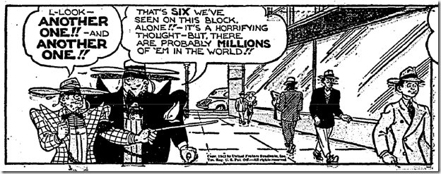 April 11, 1943, Zoot Suit Yokum