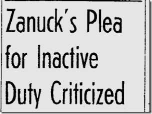 April 4, 1943, Zanuck
