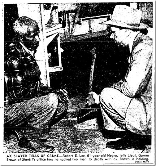 April 18, 1943, Ax Killing