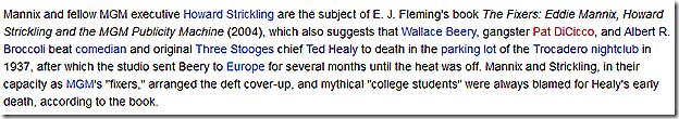 Wikipedia -- Eddie Mannix