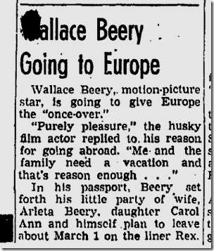 Wallace Beery, Jan. 24, 1938