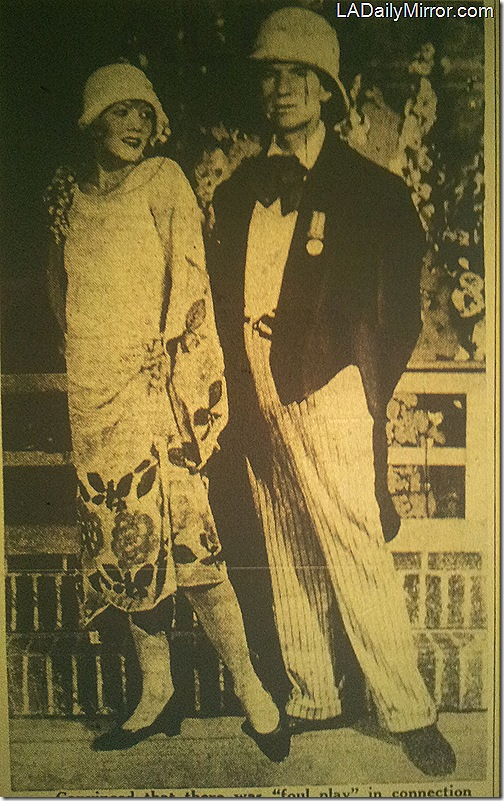 Betty Braun and Ted Healy