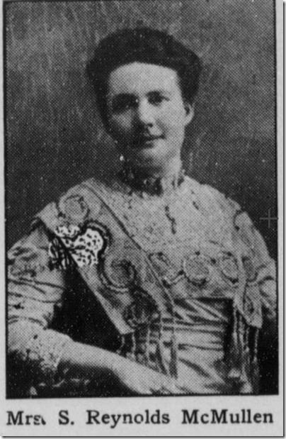 Gertrude S. McMullen, 1910