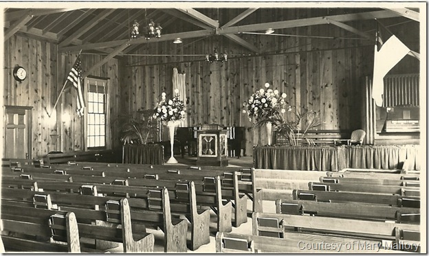 Little Country Church interior