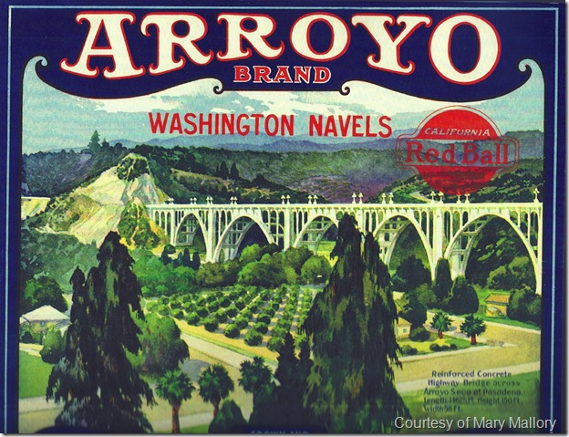 Arroyo Crate Label