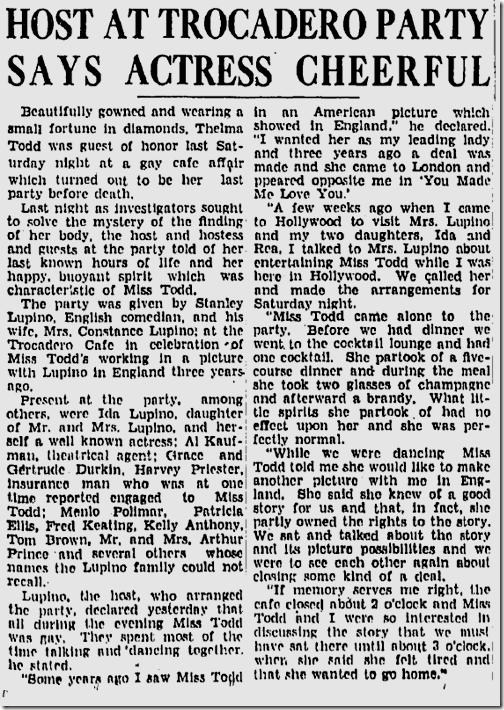 Dec. 17, 1935, Thelma Todd