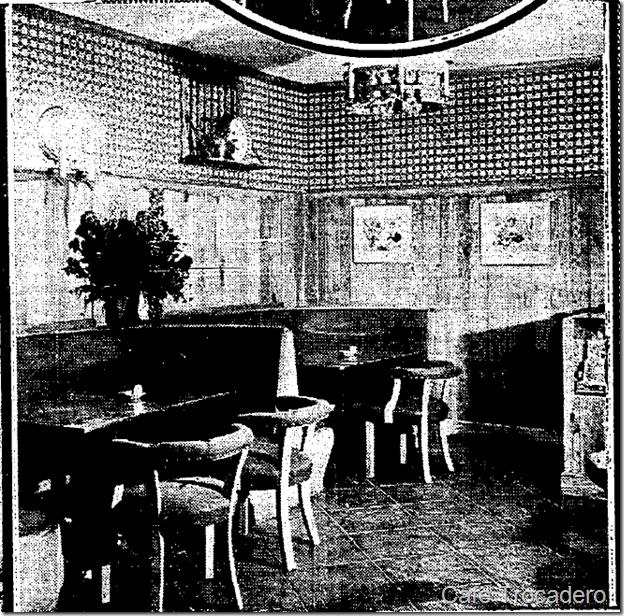 Cafe Trocadero