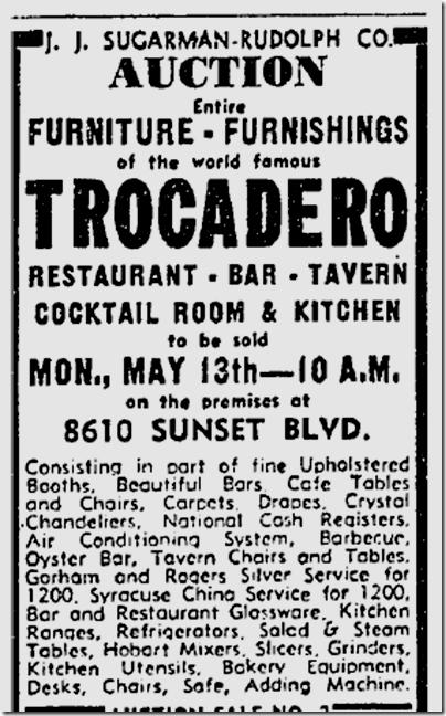 May 12, 1940, Trocadero