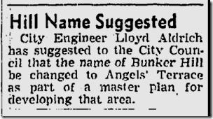 June 27, 1943, Bunker Hill