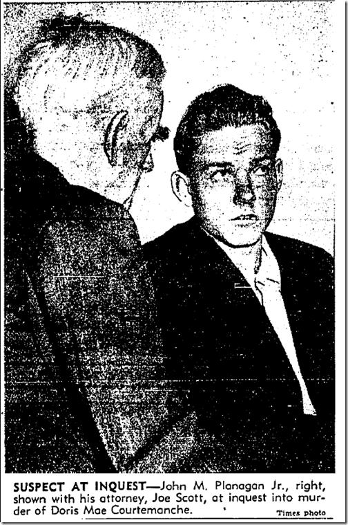 April 29, 1943, Courtemanche killing