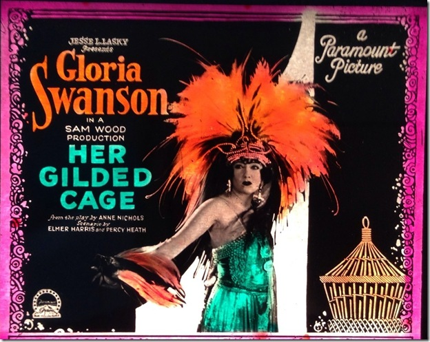 Gloria Swanson Magic Lantern