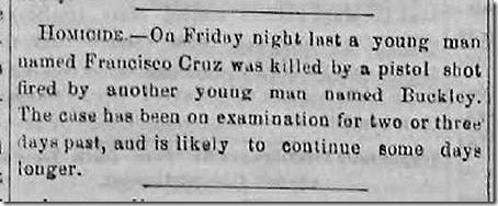 Aug. 1, 1863, Killing