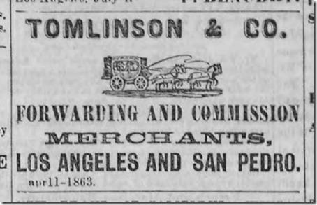 Aug. 1, 1863, Tomlinson & Co.