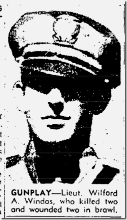 Aug. 3, 1947, Wilford Windas