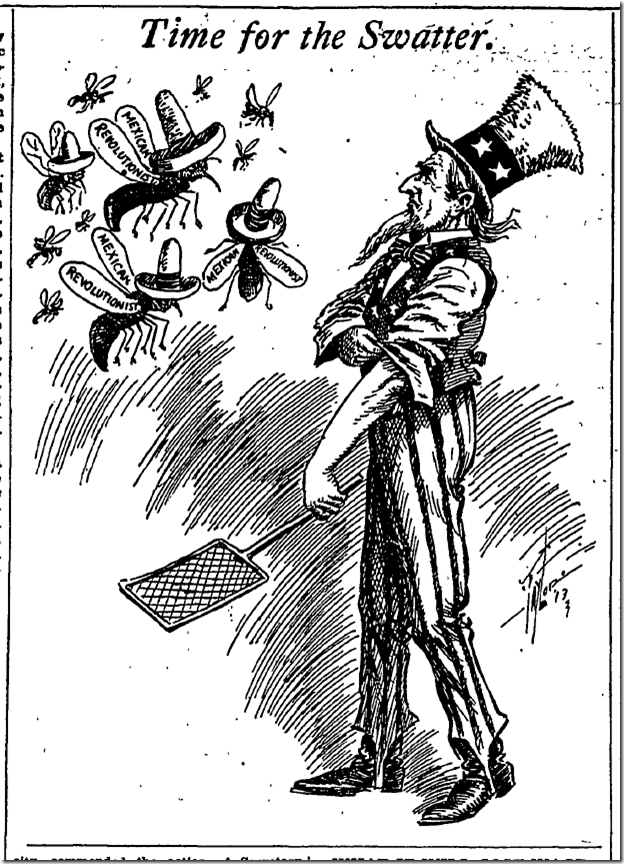 July 13, 1913, Editorial Cartoon, Los Angeles Times, ladailymirror.com