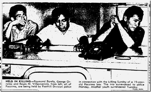 July 17, 1963, Gang Killing