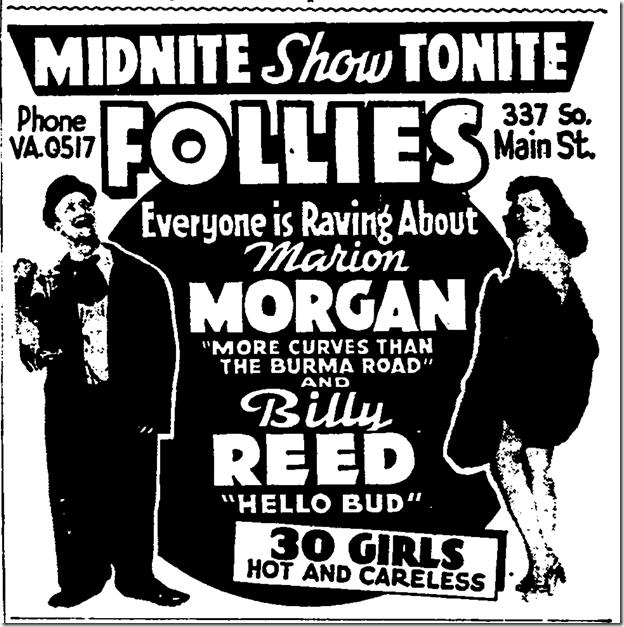 July 24, 1943, Follies