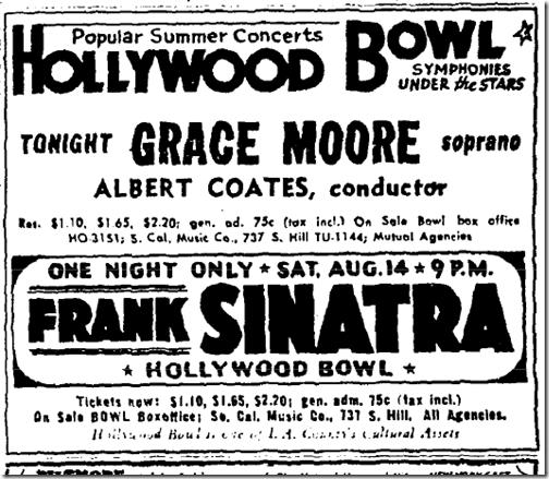 Aug. 7, 1943, Frank Sinatra