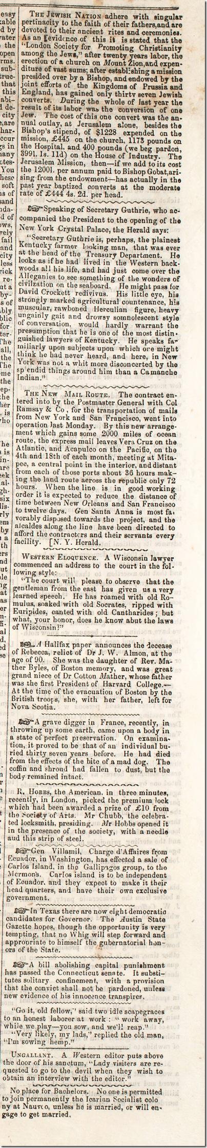Sept. 3, 1853, Los Angeles Star