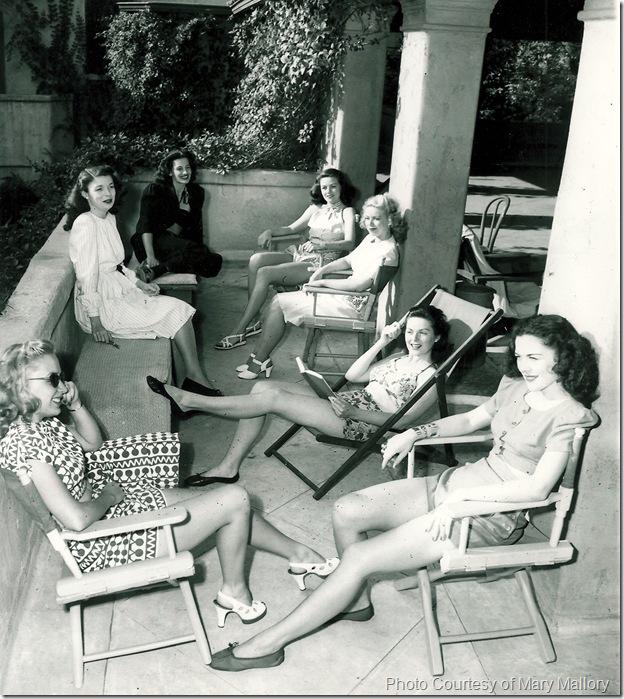 Hollywood Studio Club Porch