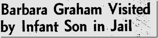 Sept. 6, 1953, Barbara Graham