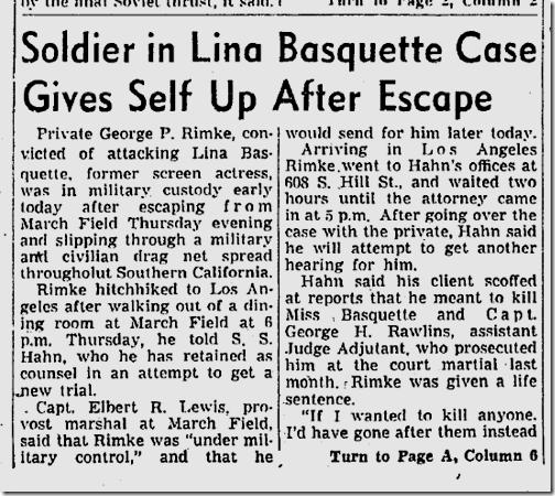 Sept. 11, 1943, Lina Basquette