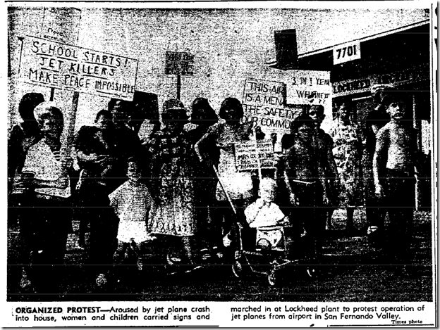 Sept. 12, 1953, Lockheed Protest