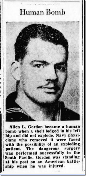 Oct. 7, 1943, Human Bomb