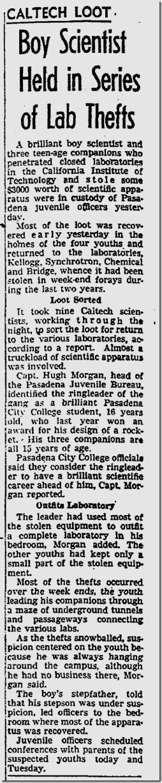 Aug. 22, 1953, Boy Scientist