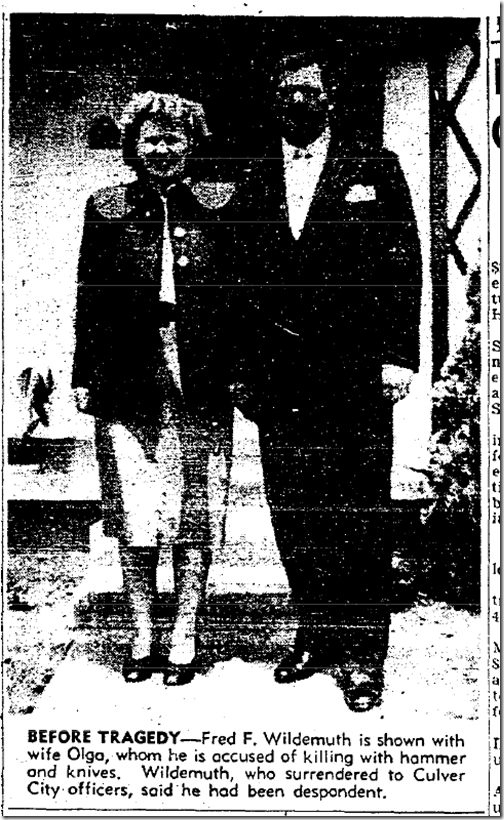Aug. 22, 1953, Wildemuth Killing