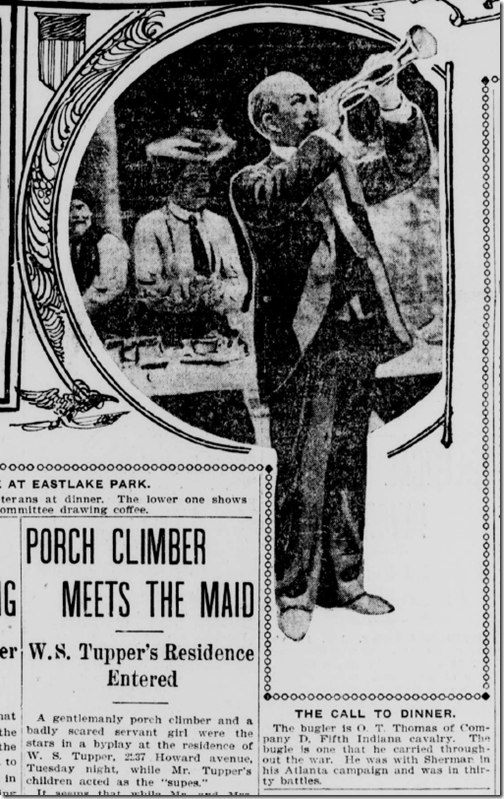 Aug. 27, 1903, Bugler