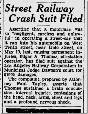 Aug. 28, 1933, Streetcars