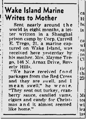 Aug. 29, 1943, POW Letter