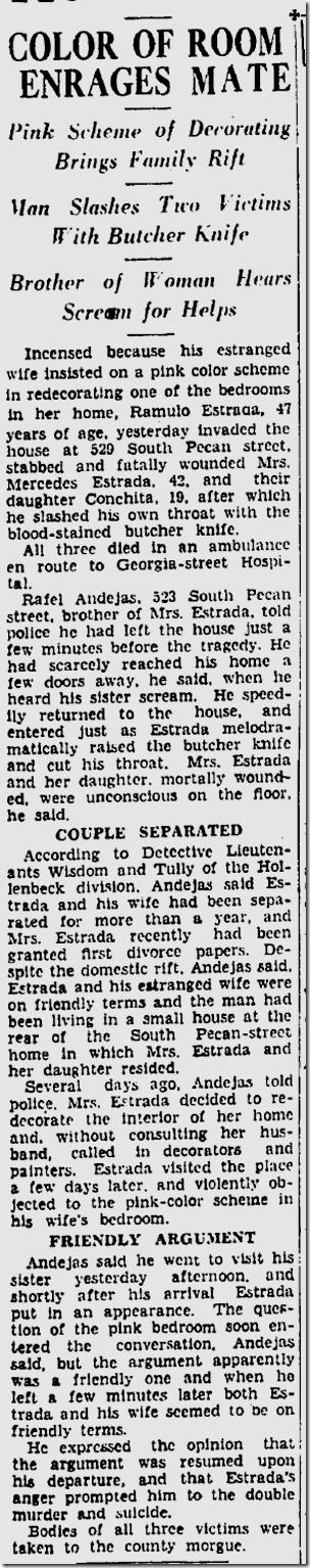 Sept. 4, 1933, Murder-Suicide