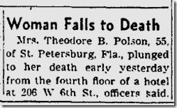 Aug. 22, 1953, Suicide