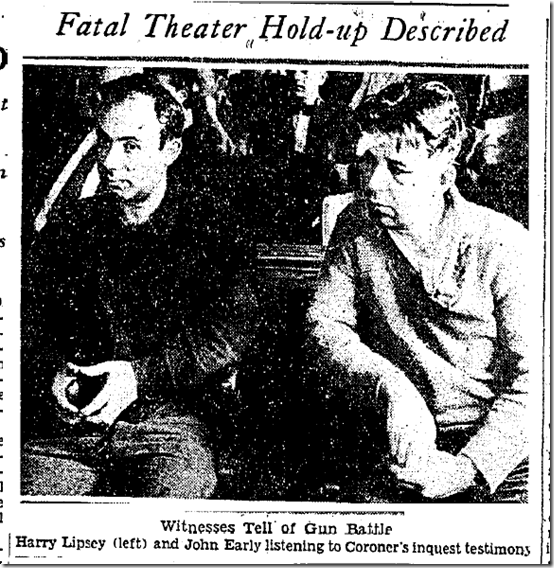 Sept. 20, 1933, Theater Holdup