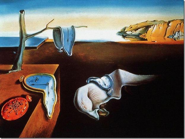 "Salvador Dali, ""Persistence of Memory."""