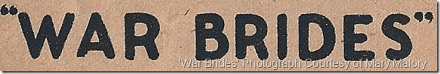 War Brides Herald