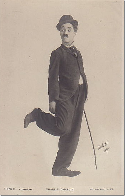 Witzel Portrait Charlie Chaplin
