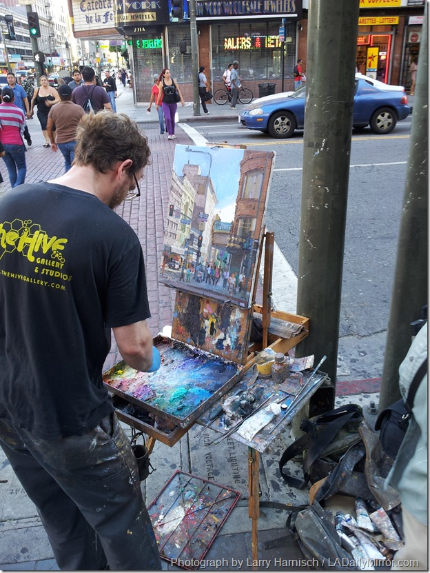 Sept. 3, 2013, Street Artist