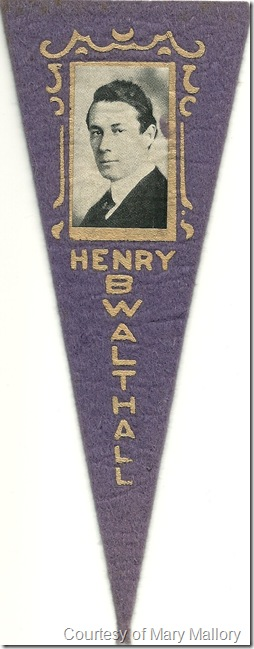 Henry Walthall pennant