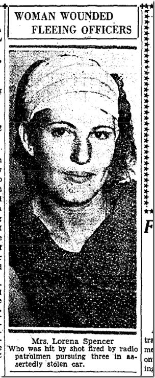 Sept. 25, 1933, Officer Involved Shooting