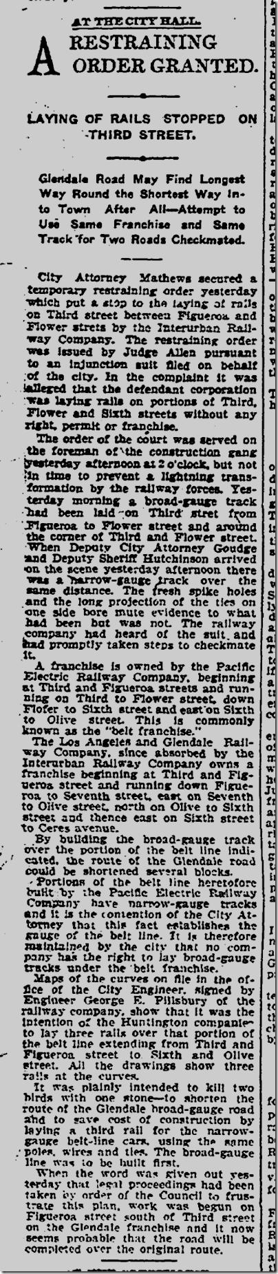 April 7, 1904, Streetcars