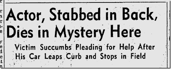 Sept. 13, 1943, David Bacon Murder