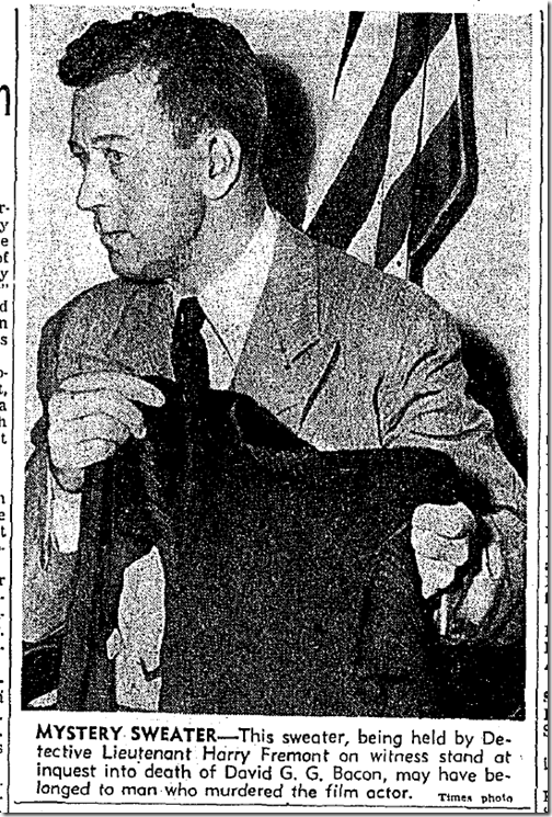 Sept. 18, 1943, Mystery Sweater