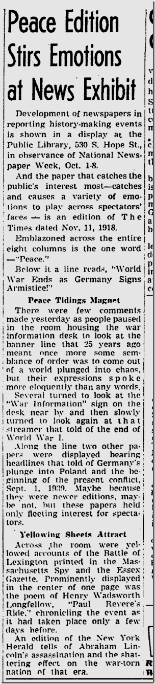 Oct. 4, 1943, Newspaper Week