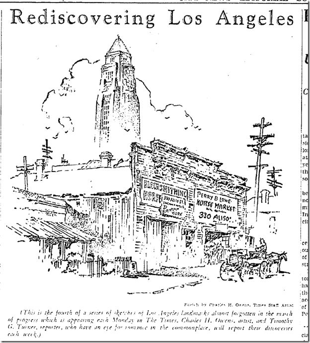 Nov. 25, 1935, Rediscovering Los Angeles