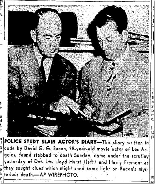 Sept. 16, 1943, David Bacon's Coded Diary