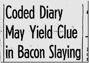 Sept. 15, 1943, Coded Diary